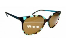 Sunglass Fix Replacement Lenses for Specsavers Sun Rx 147 - 55mm wide
