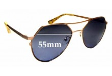 Sunglass Fix Replacement Lenses for Tabulae Eyewear Bendis - 55mm wide