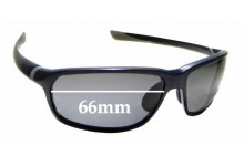 Sunglass Fix Replacement Lenses for Tag Heur TH6022 - 66mm wide