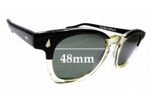 Sunglass Fix Replacement Lenses for The Real McCoy's Wellington - 48mm wide