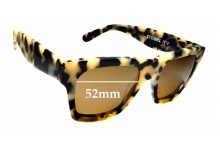 Sunglass Fix Replacement Lenses for Thrills No. 4 - 52mm wide