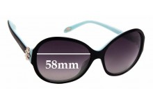 Tiffany & Co TF4068-B Replacement Sunglass Lenses - 58mm wide