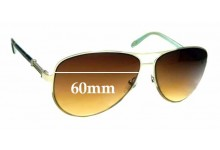 Sunglass Fix Replacement Lenses for Tiffany & Co TF3048-B - 60mm wide