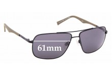 Sunglass Fix Replacement Lenses for Timberland TB9107 Sun RX - 61mm wide