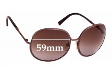 Sunglass Fix Replacement Lenses for Tom Ford Alexandra TF118 - 59mm Wide
