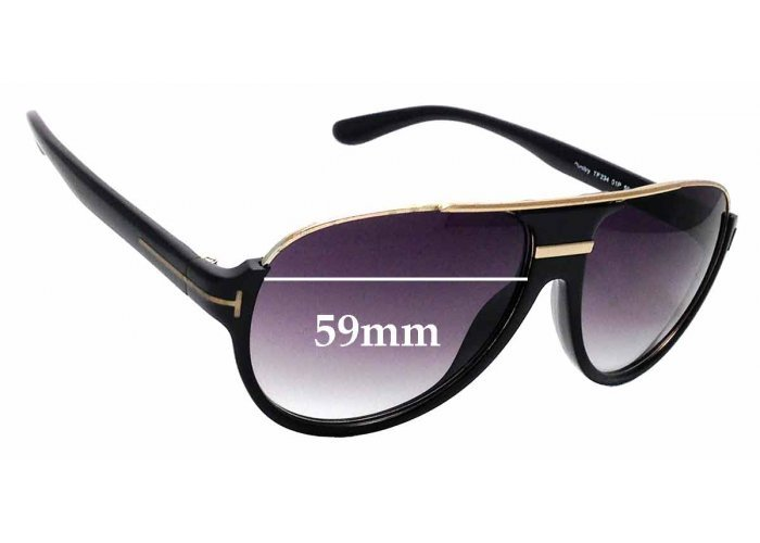 SFX Replacement Sunglass Lenses fits Tom Ford Francesca TF181 63mm Wide
