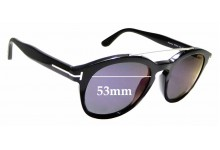 Sunglass Fix Replacement Lenses for Tom Ford Newman TF515 - 53mm Wide