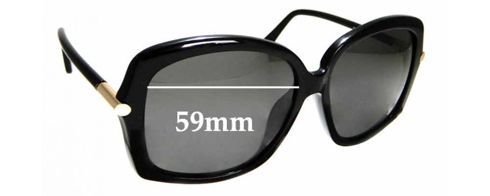 7bbc6e9ee803e Sunglass Fix Replacement Lenses for Tom Ford Paloma TF9323 - 59mm Wide