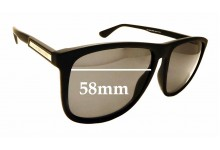 Sunglass Fix Replacement Lenses for Tommy Hilfiger TH1546/S - 58mm wide