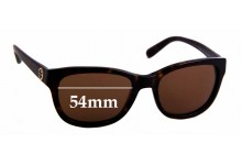 Sunglass Fix New Replacement Lenses for Tory Burch TY7044 - 54mm Wide