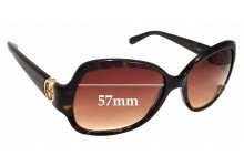 Sunglass Fix New Replacement Lenses for Tory Burch TY7059 - 57mm Wide