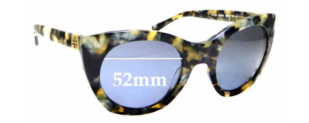 d81d3bfb0f Sunglass Fix Replacement Lenses for Tory Burch TY7097 - 52mm wide ...