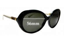 Sunglass Fix New Replacement Lenses for Tory Burch TY9039 - 56mm Wide