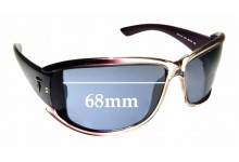 Sunglass Fix New Replacement Lenses for Trussardi TE21181 - 68mm Wide