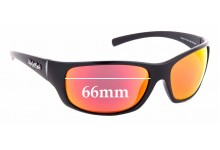 Sunglass Fix Replacement Lenses for Ugly Fish Eclipse PC 3441 - 66mm Wide