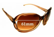Sunglass Fix Replacement Lenses for Valentino 5685/S - 61mm Wide