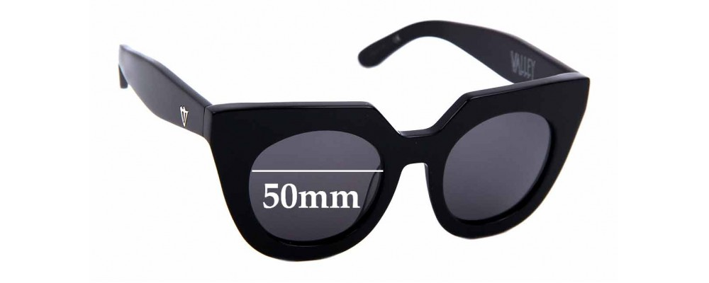 Sunglass Fix Replacement Lenses for Valley Spleen - 50mm wide