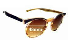 Sunglass Fix New Replacement Lenses for Vera Wang Pascal - 48mm Wide