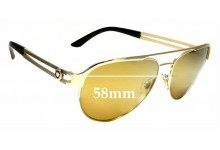 Sunglass Fix Replacement Lenses for Versace MOD 2165 - 58mm wide