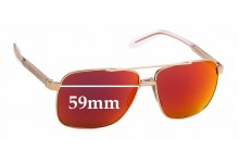 Sunglass Fix Replacement Lenses for Versace MOD 2174 - 59mm wide
