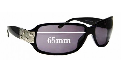 Sunglass Fix Replacement Lenses for Versace MOD 4071 - 65mm Wide