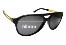 Sunglass Fix Replacement Lenses for Versace Mod 4312 - 60mm wide