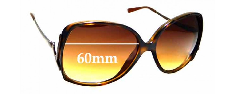 Sunglass Fix Replacement Lenses for Vogue VO 2638-S 60mm wide