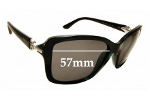 Sunglass Fix Replacement Lenses for Vogue VO 2832-S-B - 57mm wide