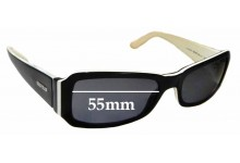Sunglass Fix Replacement Lenses for Vogue VO 2323-S - 55mm wide