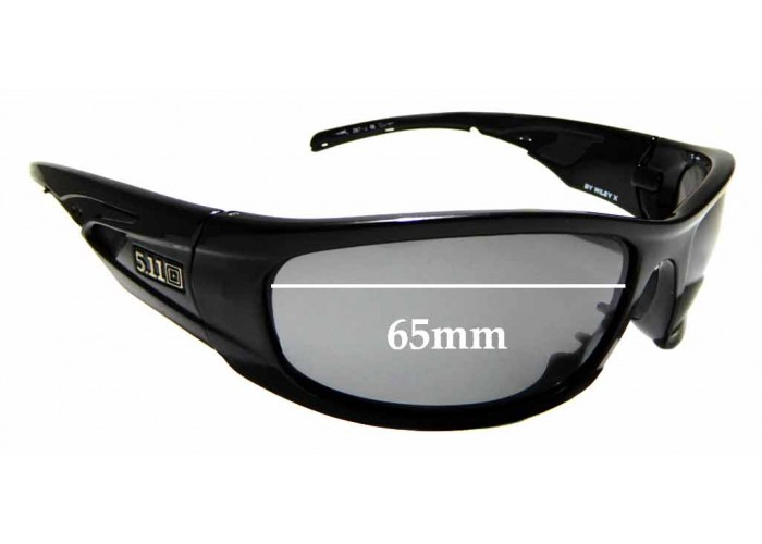 SFX Replacement Sunglass Lenses fits Wiley X Jake 64mm Wide