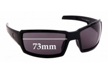 Sunglass Fix Replacement Lenses for Harley Davidson Wiley X H-D Jumbo - 73mm wide