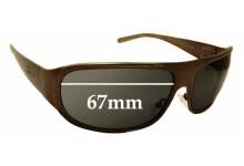 Sunglass Fix Replacement Lenses for Xezo Incognito - 67mm