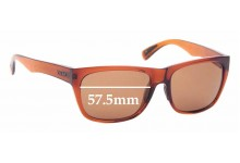 Sunglass Fix Replacement Lenses for Zeal Carson - 57.5mm wide
