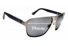 Sunglass Fix Replacement Lenses for Zeal Riviera - 59mm wide