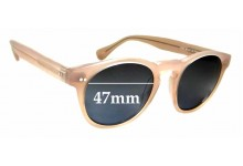Sunglass Fix Replacement Lenses for Ziess Scalan Theodore Sena - 47mm wide