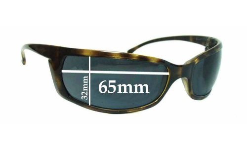 Sunglass Fix Replacement Lenses for Arnette AN4007 Slide - 65mm wide x 32mm high *Please measure as there is a height variation*