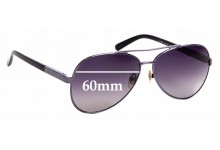 Sunglass Fix Replacement Lenses for Armani Exchange AX 201/S - 60mm Wide