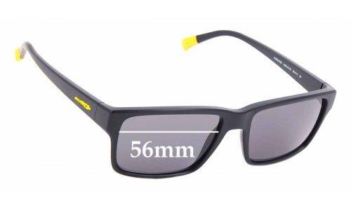 Sunglass Fix Replacement Lenses for Arnette Dashanzi AN4254 - 56mm wide