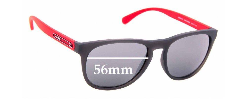 Sunglass Fix Replacement Lenses for Arnette Hardflip AN4245 - 56mm wide