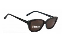 Sunglass Fix Replacement Lenses for Bill Bass Betty - 51mm Wide