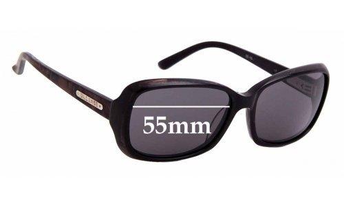 Sunglass Fix Replacement Lenses for Bill Bass Nina 25409 - 55mm wide