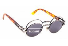 Sunglass Fix Replacement Lenses for Boy London 90's Vintage - 45mm Wide