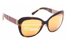 Sunglass Fix New Replacement Lenses for Burberry B 3088 - 57mm Wide