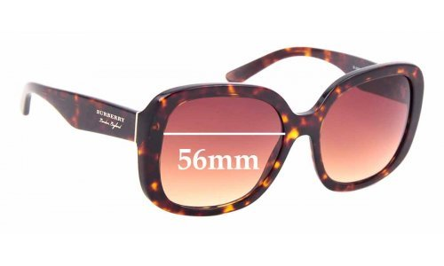 Sunglass Fix Replacement Lenses for Burberry B 4259 - 56mm Wide