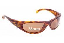 Sunglass Fix Replacement Lenses for Calvin Klein CK3001 - 58mm Wide