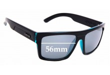 Sunglass Fix Replacement Lenses for Carve Volley - 56mm Wide