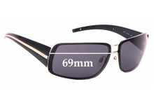 Sunglass Fix Replacement Lenses for Chanel 4138 - 69mm Wide
