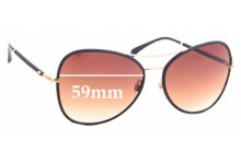 Sunglass Fix Replacement Lenses for Chanel 4227Q - 59mm wide