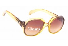 Sunglass Fix Replacement Lenses for Christian Dior 1207 - 50mm wide