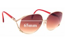 Sunglass Fix Replacement Lenses for Christian Dior 2250 - 65mm Wide